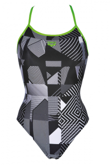 Arena Optical One Piece Fl black-leaf