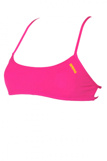 Arena Bandeau Play fresia-yellow