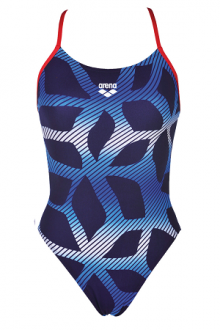 Arena Spider Booster Back One Piece L navy-red
