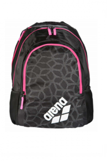 ARENA SPIKY 2 SMALL BLACK-X-PIVOT-FUCHSIA