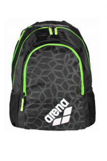 ARENA SPIKY 2 SMALL BLACK-X-PIVOT-FLUO-GREEN