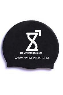 White number on black caps