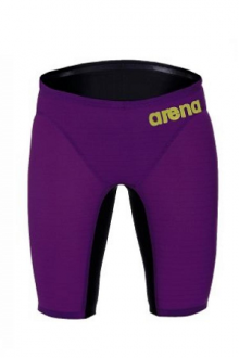 Arena M Carbon Air Jammer plum/fluo-yellow