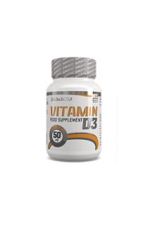 BioTechUSA Vitamin D3 50mcg 60 tabletten