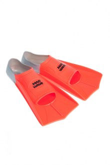 Mad Wave Fins Training Orange/Grey