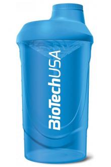 BioTechUSA Shaker BioTech Wave 600ml blue
