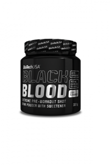 BioTechUSA Black Blood CAF+ 300g Blueberry