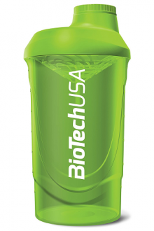 BioTechUSA Shaker BioTech Wave 600ml green