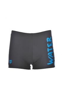 Arena B Slogan Jr Short black-turquoise