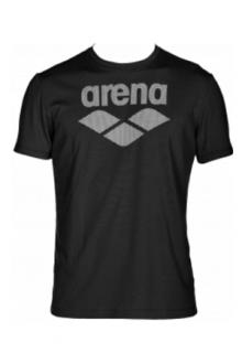 Arena M Gym S/S logo black-black