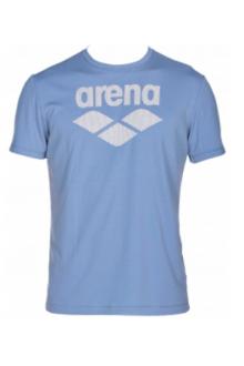 Arena M Gym S/S logo patagonia-black