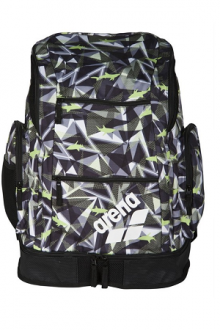 Arena Spiky 2 Large Backpack AO Shattered-sharks-black-lime