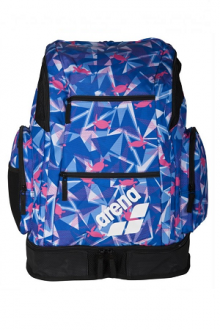 Arena Spiky 2 Large Backpack AO Shattered-turtles-blue-fuchsia