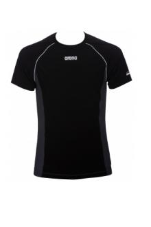 Arena M Perf Revo T-shirt black-asphalt