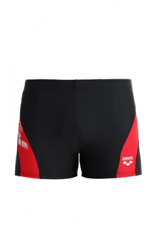 Arena Byor short black-red