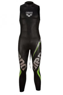 Arena M Tri Wetsuit Carbon Sleeveless black