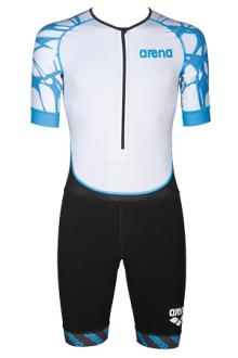 Arena M Trisuit Aero Black/aqua-blue