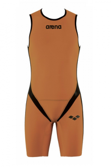 Arena M Zipped Trisuit Tri Poly C Orange/Black/Orange