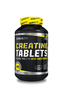 BioTech Creatine Monohydrate Lemon 200 tablets