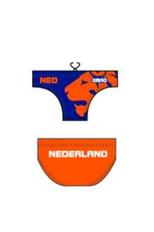 Arena WP M Brief Replica Dutch Fed allover