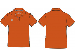 Arena Tl Tech S/S Polo orange