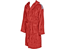 Arena Core Soft Robe red-white
