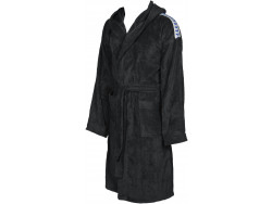 Arena Core Soft Robe black-white