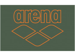 Arena Pool Smart Towel army-tangerine