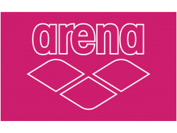 Arena Pool Smart Towel fresia-rose-white