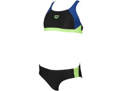 Arena G Ren Two Pieces black-royal-shiny-green