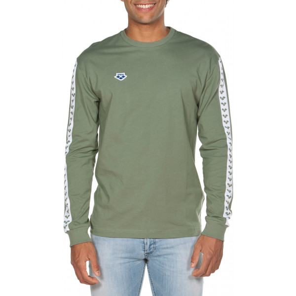 Arena M Long Sleeve Shirt Team army-white-army