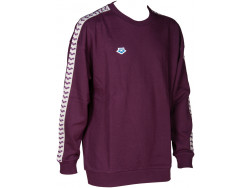 Arena Sweat Team Oversize red-wine-cool-grey