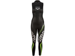 Arena W Tri Wetsuit Carbon Sleevless black
