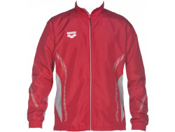Arena Tl Warm Up Jacket red/grey