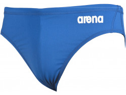 Arena M Solid Waterpolo Brief royal/white