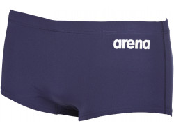 Arena M Solid Squared Short navy/white