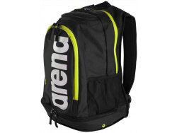Arena Fastpack Core black-fluo-green-white