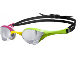 Arena Cobra Ultra Mirror Silver-Green-Pink