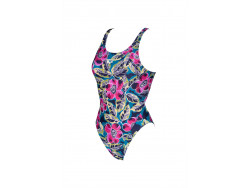 Arena W Tropical Sketch Swim Tech One Piece green-multi