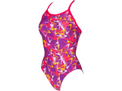 Arena W Power Triangle Light Drop One Piece provenza-rose