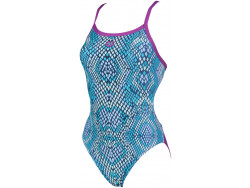 Arena W Snake Skin Challenge Back One Piece provenza