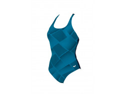 Arena W Ada Cradle Back One Piece C-Cup navy-curacao
