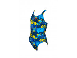Arena G Dancing Jr Swim Pro One Piece L navy-multi