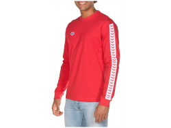 Arena M Long Sleeve Shirt Team red-white-red
