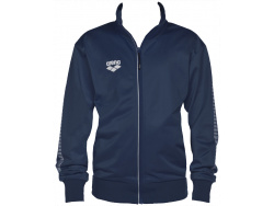 Arena Jr Tl Knitted Poly Jacket navy