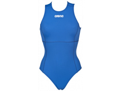 Arena W Solid Waterpolo One Piece royal/white