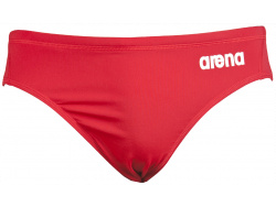 Arena M Solid Waterpolo Brief red/white