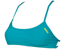 Arena Bandeau Play persiangreen-yellow-star