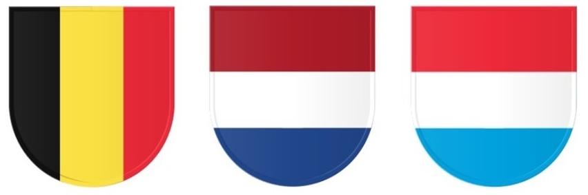 Benelux_Vlaggen